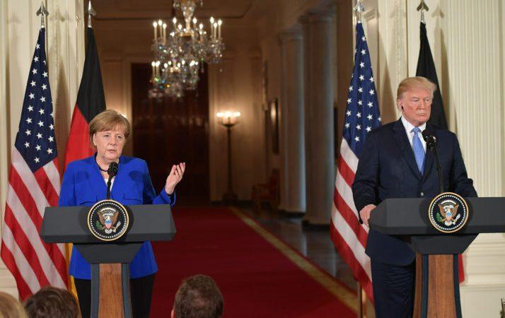 Merkel dhhe Trump