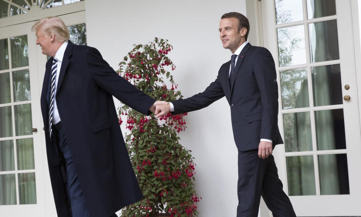 Macron dhe Trump