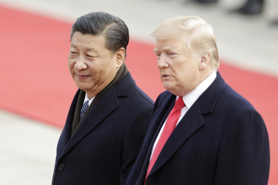 Presidenti kinez Xi dhe ai amerikan Trump