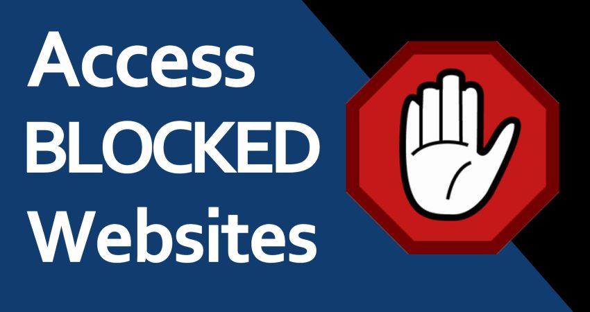 website i bllokuar