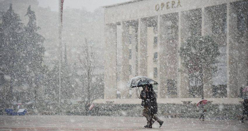Foto ilustruese , bore ne Tirane